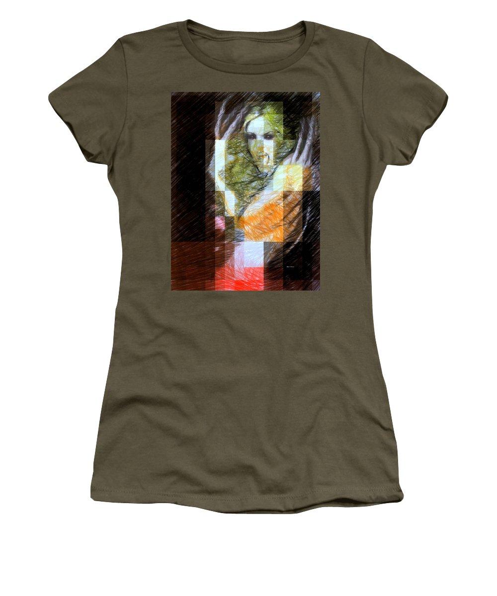Halloween Women's T-Shirt featuring the digital art Halloween Scream by Rafael Salazar