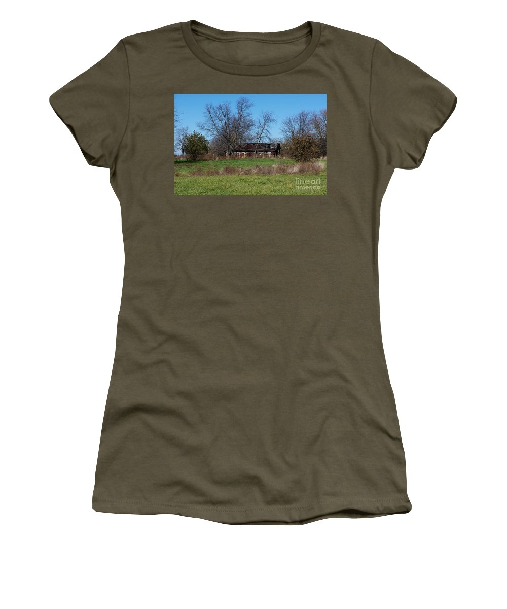 Fall Women's T-Shirt featuring the photograph Hard Life by Joseph Yarbrough
