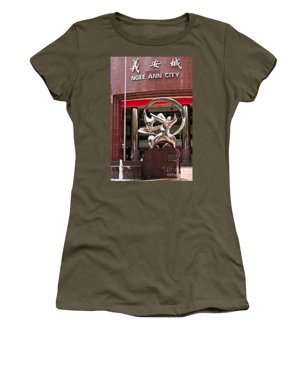 Ngee Women's T-Shirt featuring the photograph Harmony by Rick Piper Photography