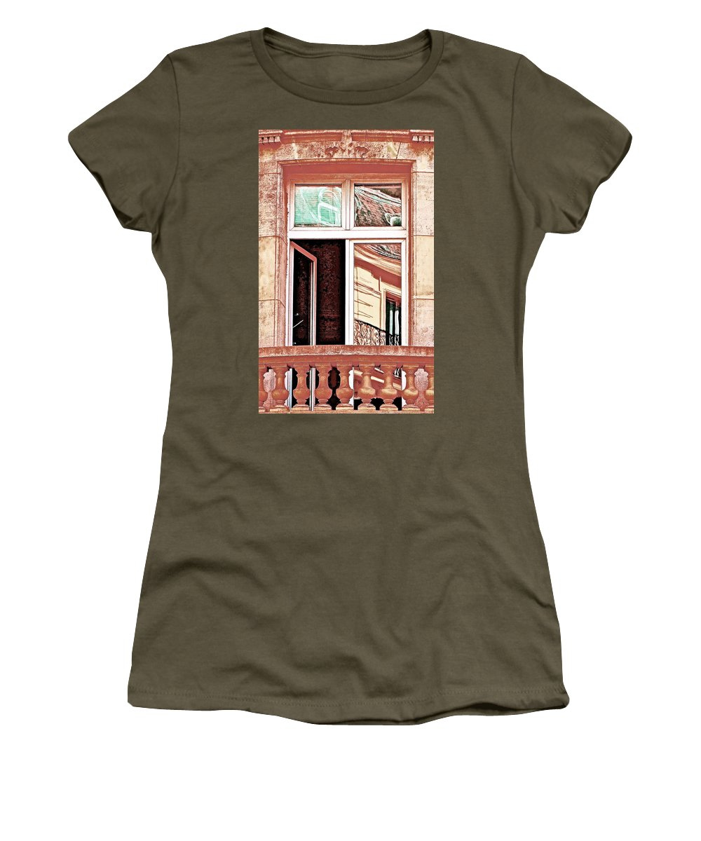 Windows Women's T-Shirt featuring the photograph Headquarters by Ira Shander