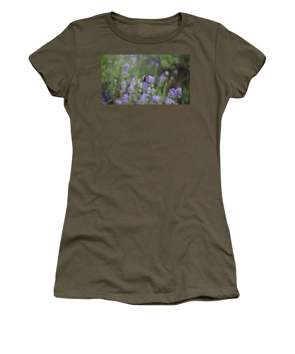 Bees Women's T-Shirt featuring the photograph Honey by Crystal Harman