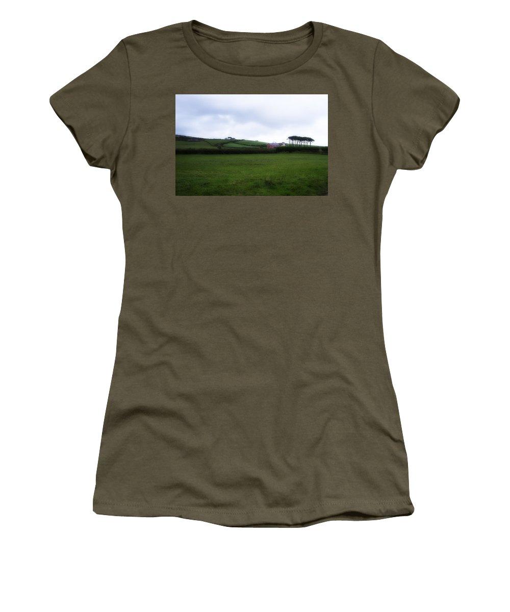 Dingle Women's T-Shirt featuring the photograph Horizon Dingle Ireland by Hugh Smith