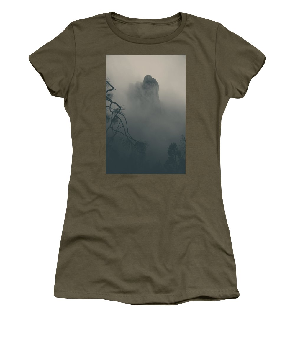 Yosemite National Park Women's T-Shirt featuring the photograph I Can Barely Remember by Laurie Search