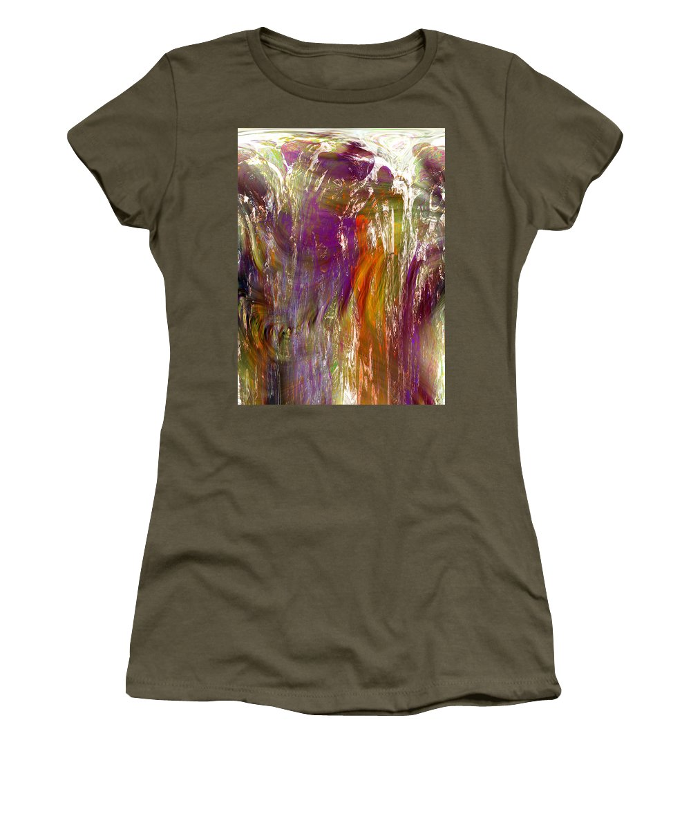 Abstract Women's T-Shirt featuring the digital art If You Doubt Your Dreams In The Daylight by Richard Thomas