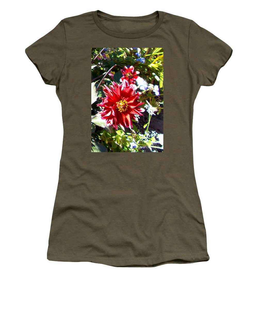 Flower Women's T-Shirt featuring the photograph In Full Bloom by Pamela Hyde Wilson