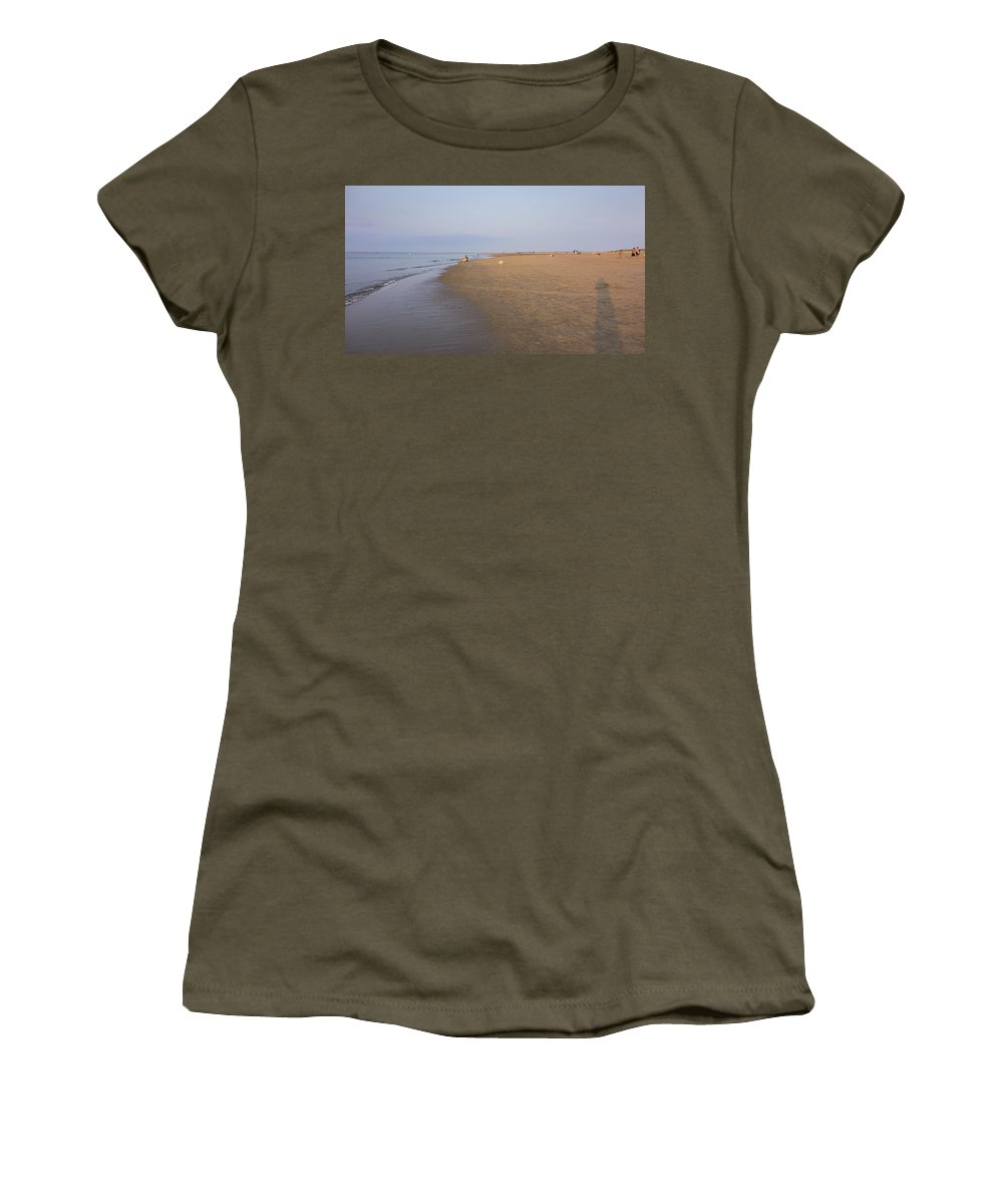 Ipswich Women's T-Shirt featuring the photograph In The Time Of The Long Shadows by David Stone