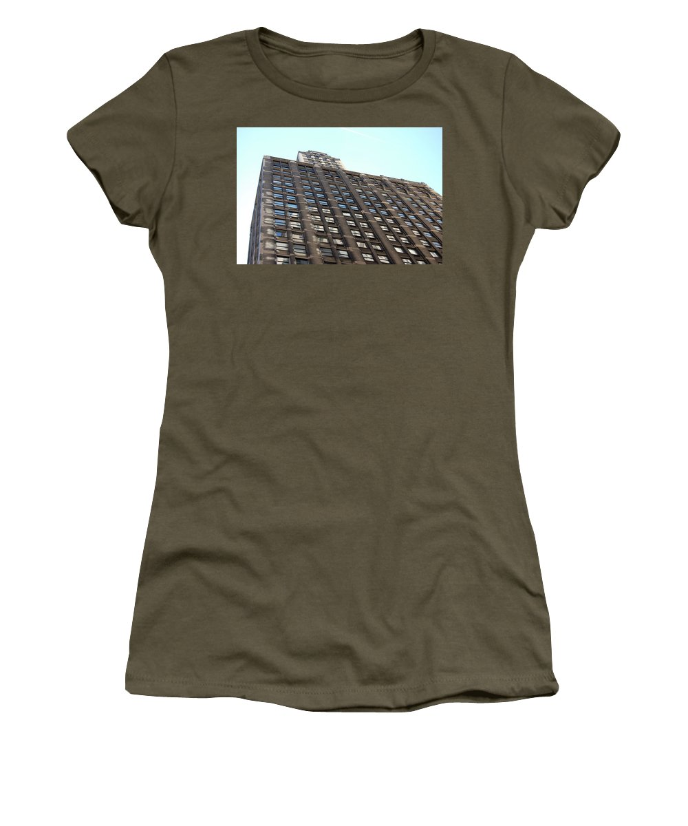 Architecture Women's T-Shirt (Athletic Fit) featuring the photograph Jammer Architecture 006 by First Star Art