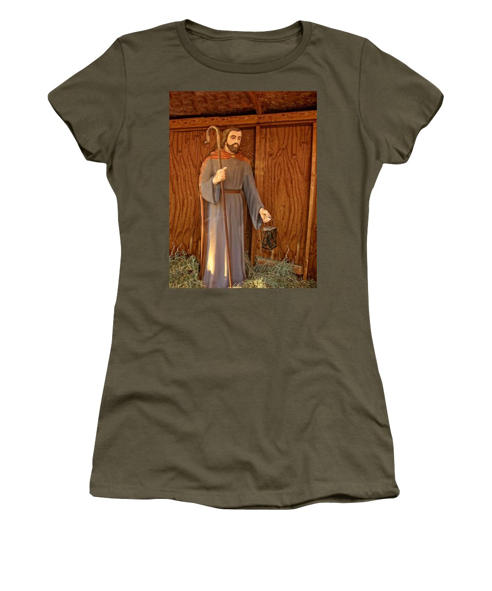 Idaho Falls Women's T-Shirt featuring the photograph Joseph by Image Takers Photography LLC - Carol Haddon