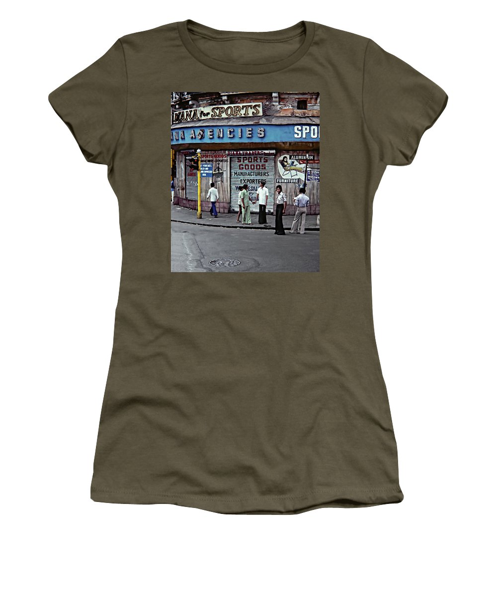 India Women's T-Shirt featuring the photograph Just Buddies by Steve Harrington