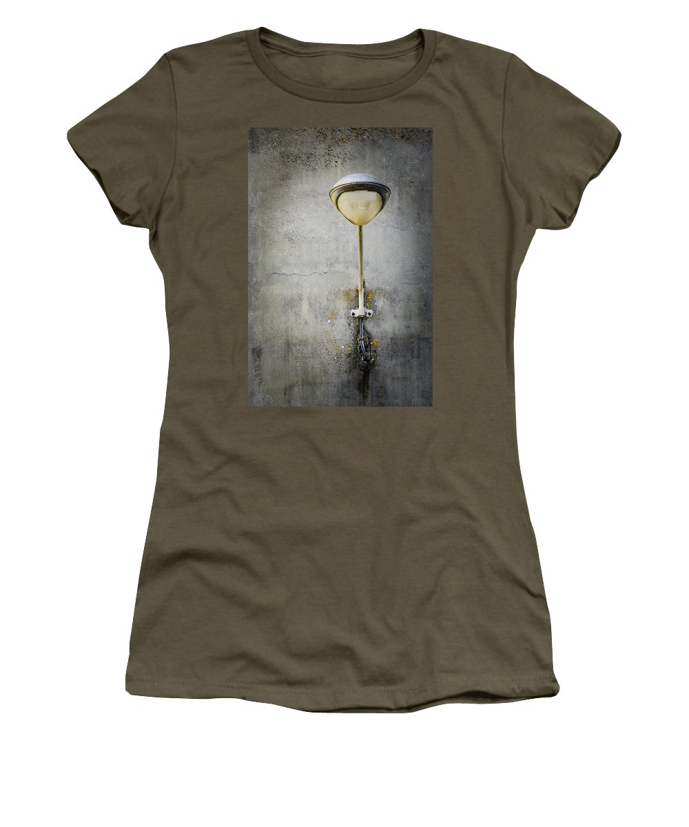 Light Women's T-Shirt featuring the photograph Just One Light by Carolyn Marshall