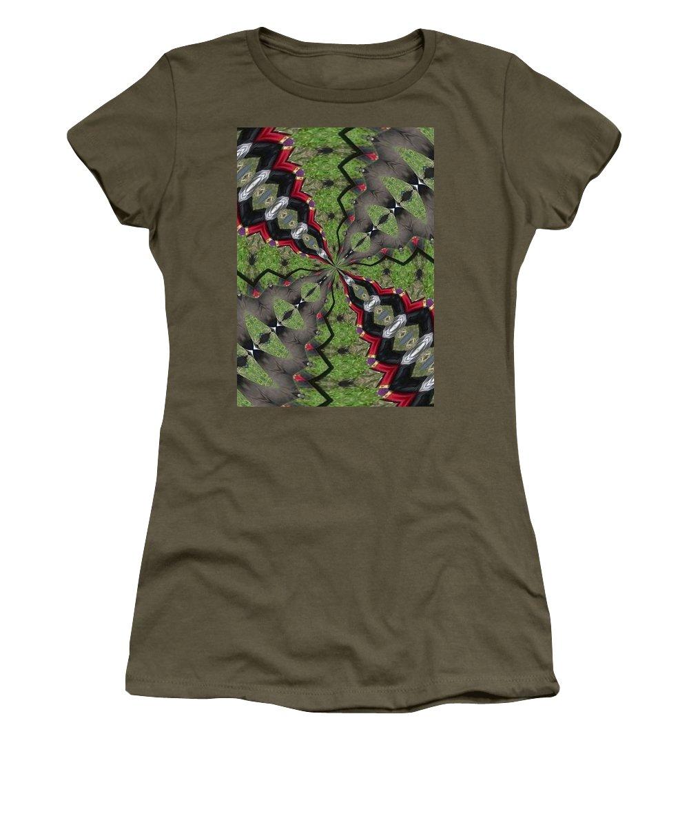Kaleidoscope Women's T-Shirt featuring the photograph K2 by Mechala Matthews