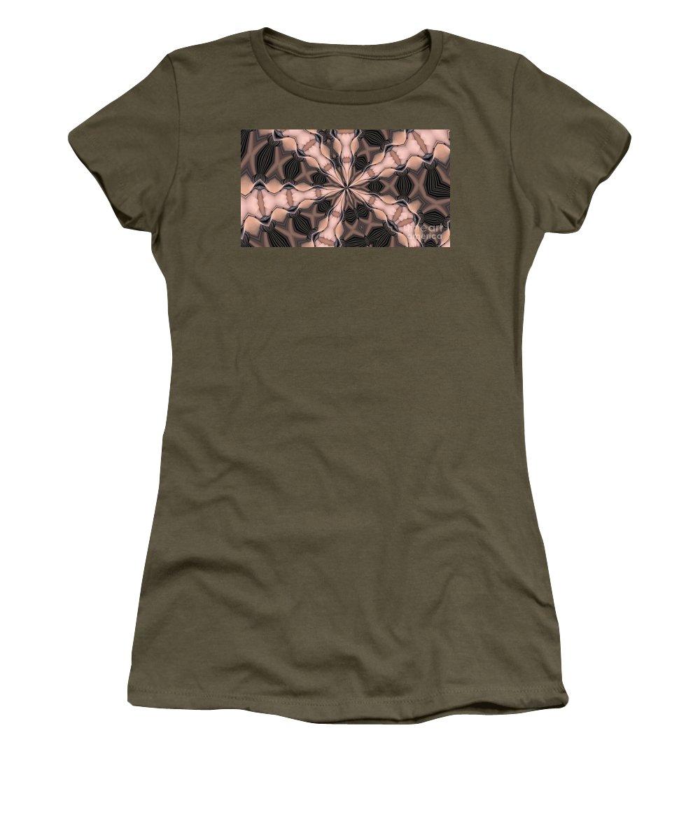 Kaleidoscope Women's T-Shirt featuring the photograph Kaleidoscope 27 by Ron Bissett