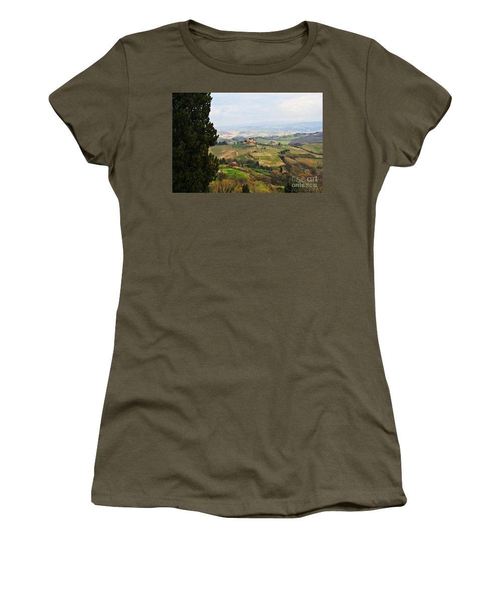 Travel Women's T-Shirt featuring the photograph La Dolce Vita by Elvis Vaughn