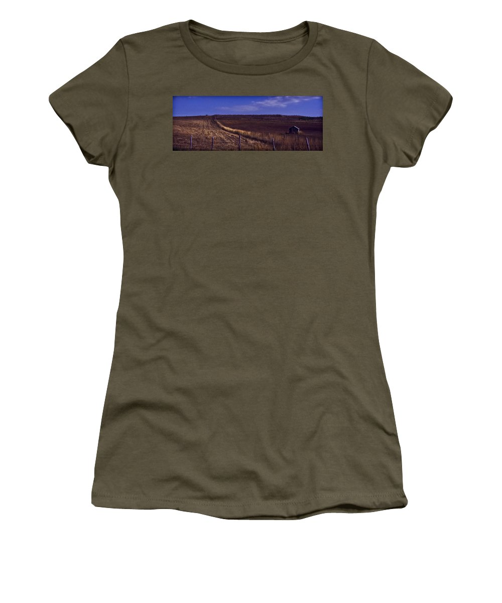 Italy Women's T-Shirt featuring the photograph Land Escape by Michele Mule