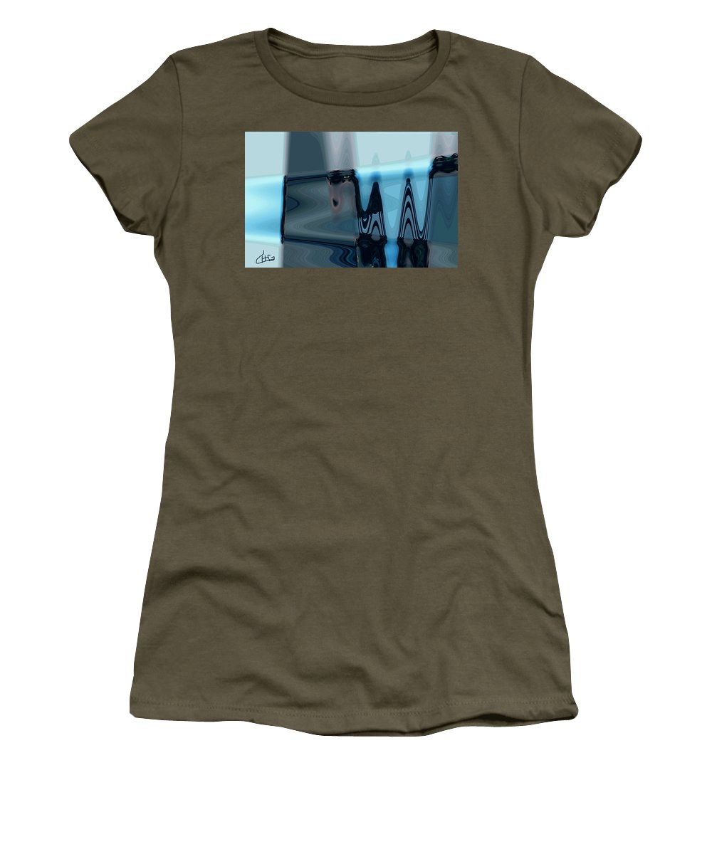 Colette Women's T-Shirt featuring the photograph Life Bits by Colette V Hera Guggenheim