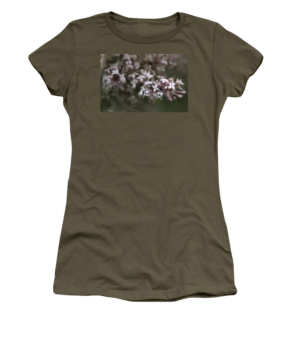 Lilac Women's T-Shirt featuring the photograph Lilac by Fran Gallogly