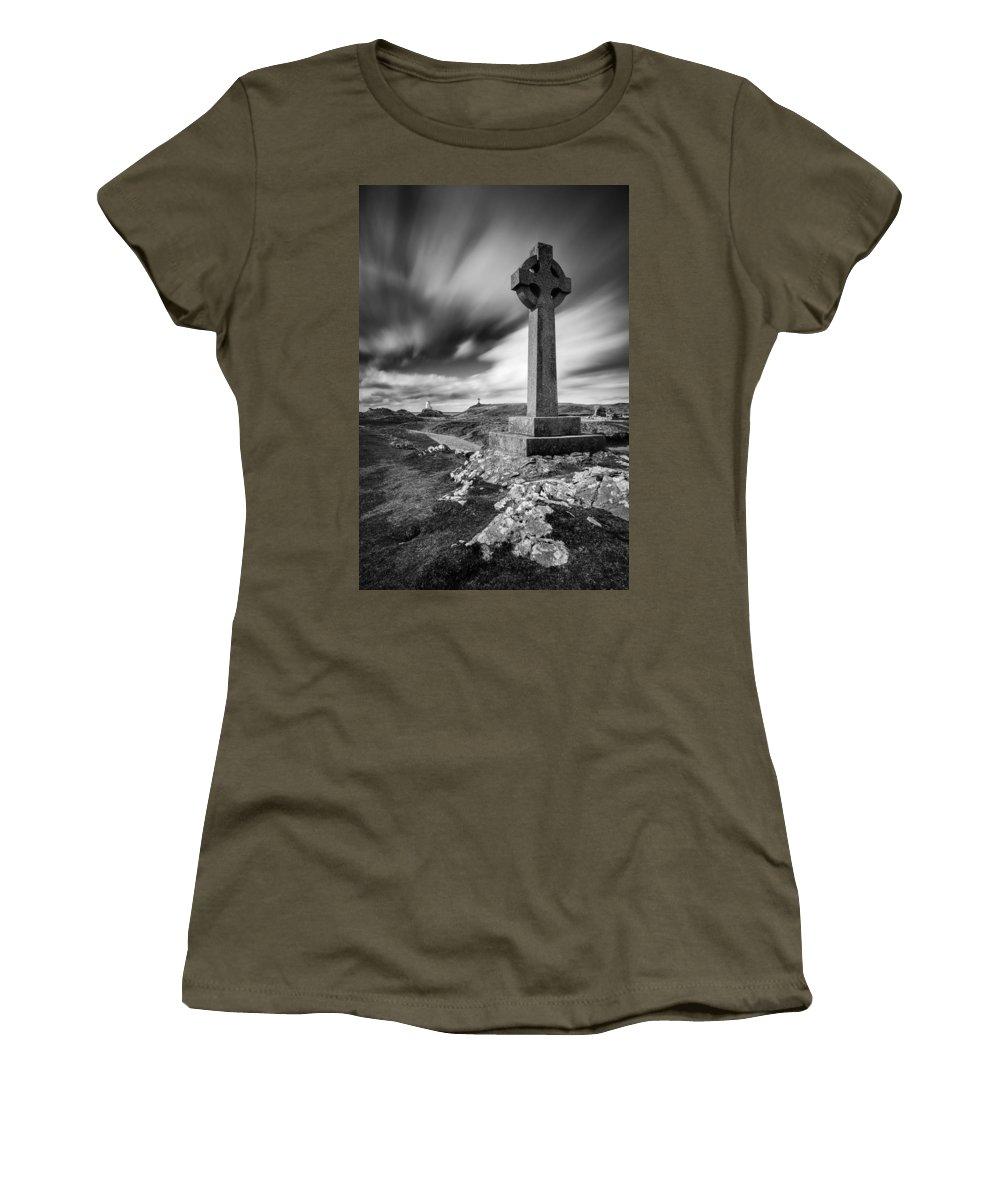 Llanddwyn Island Women's T-Shirt featuring the photograph Llanddwyn Island by Dave Bowman