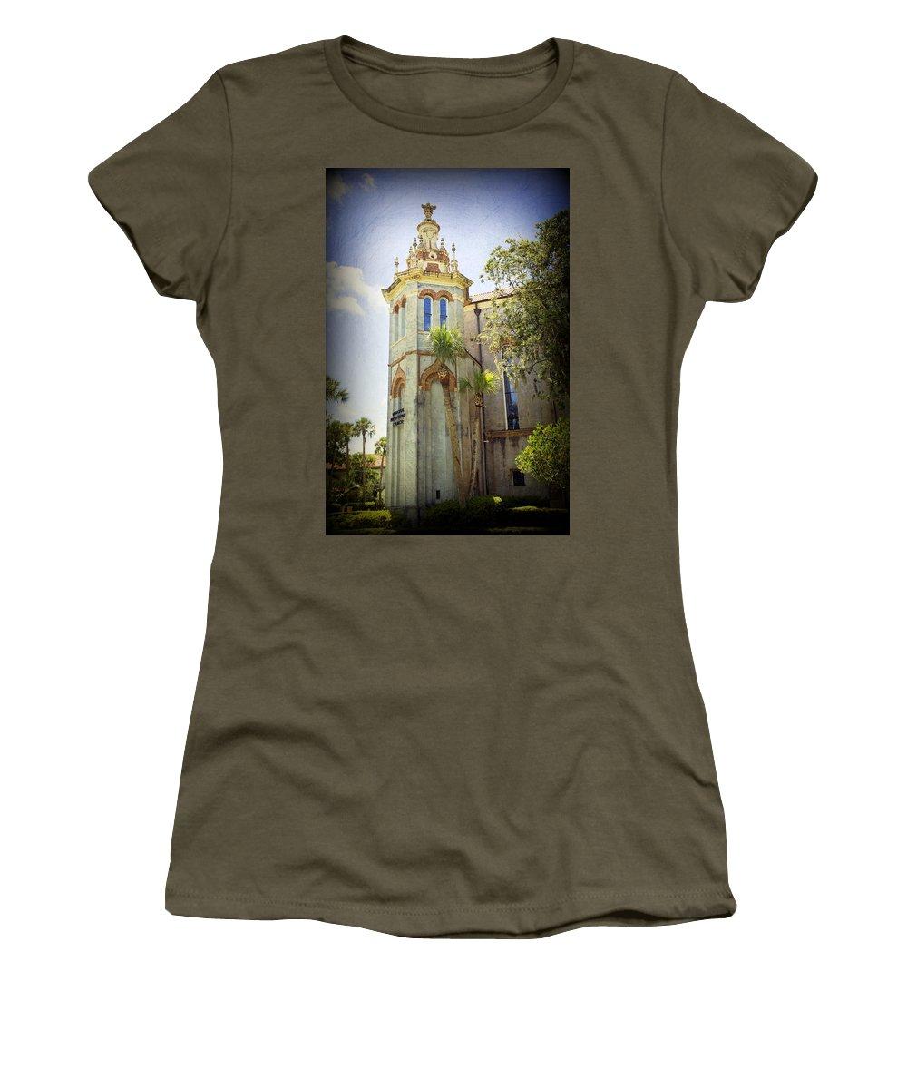Memorial Presbyterian Church Women's T-Shirt featuring the photograph Memorial Presbyterian Church by Laurie Perry