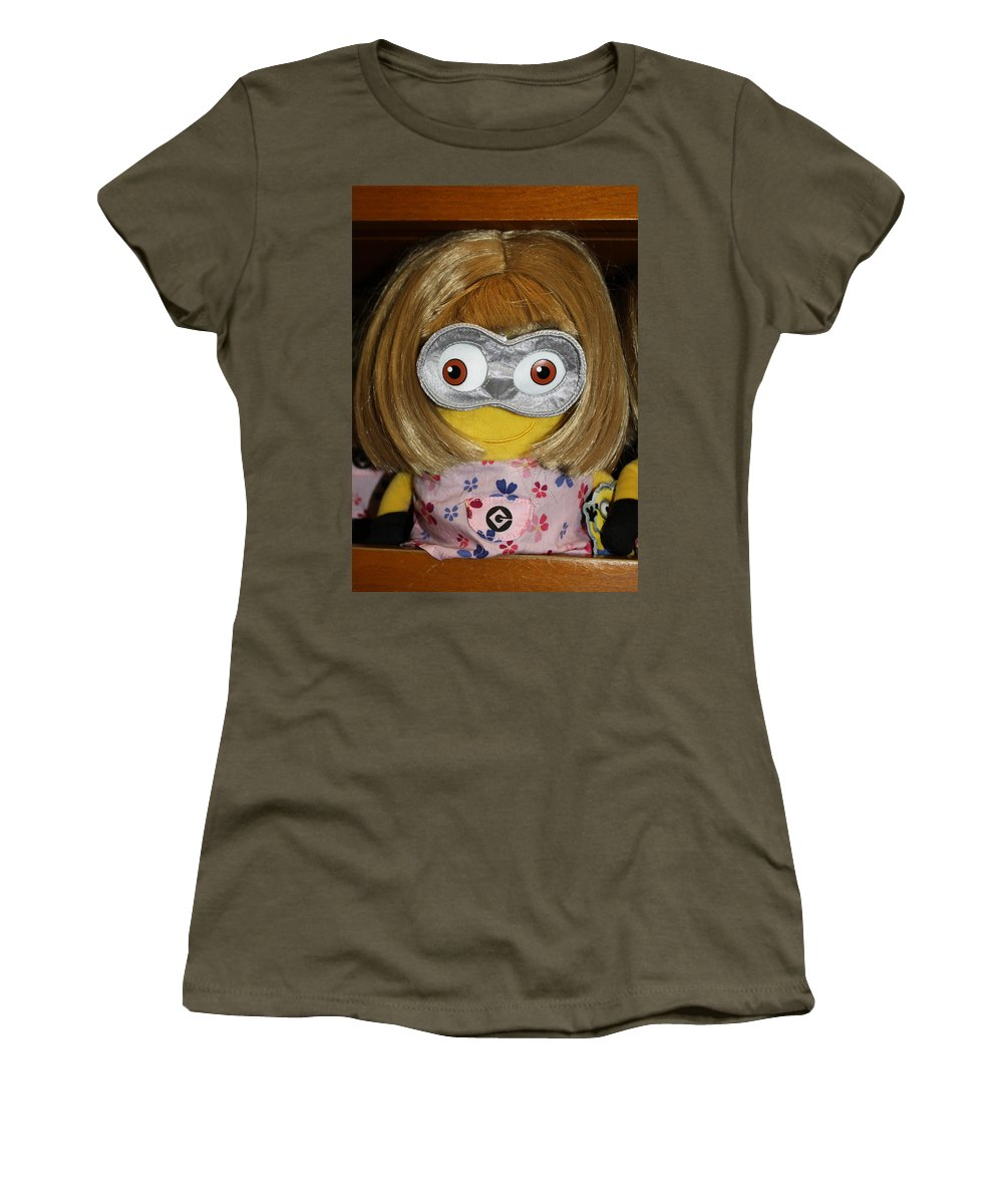 Orlando Women's T-Shirt (Athletic Fit) featuring the photograph Minion In Disguise by David Nicholls