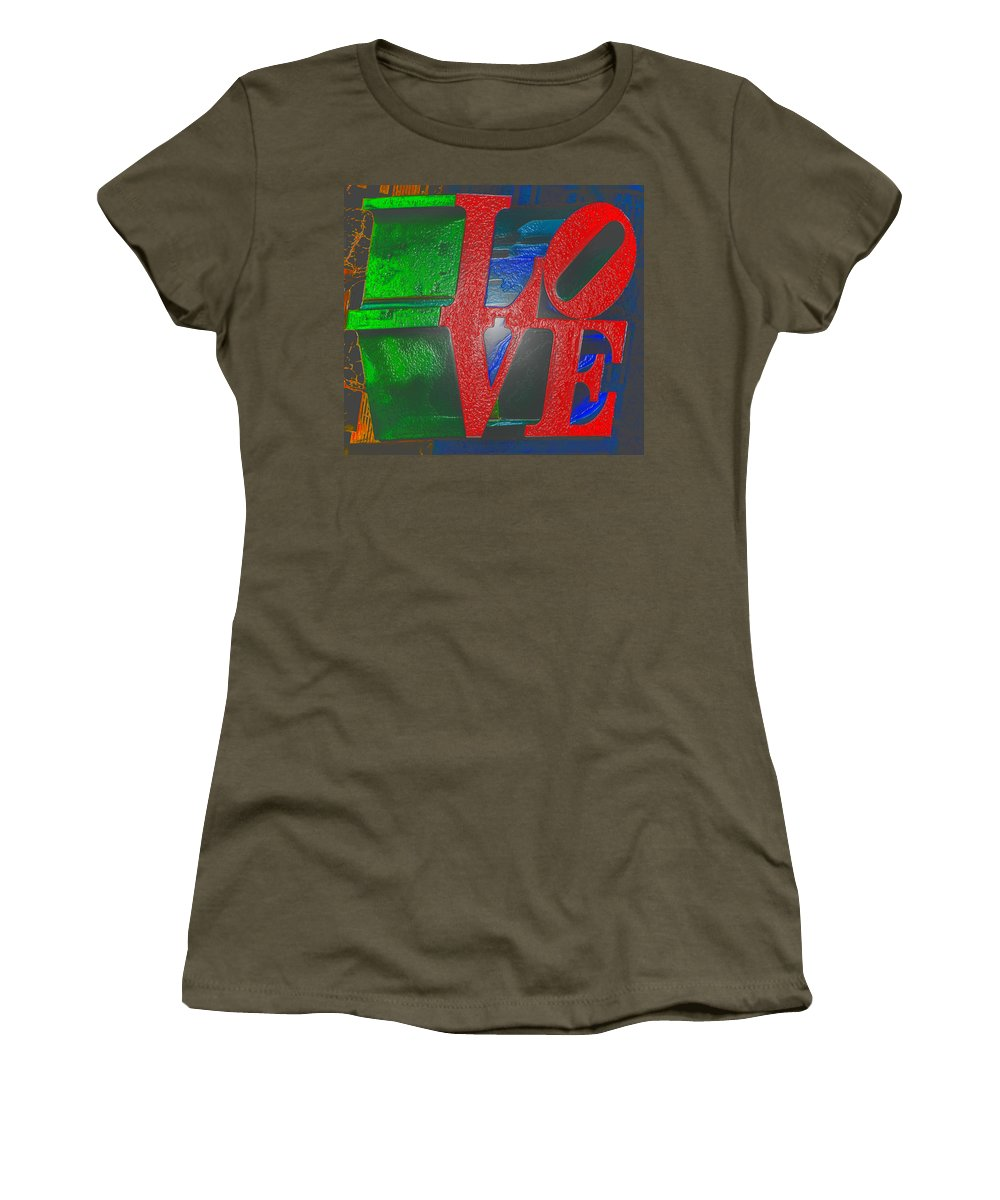 Modern Love Women's T-Shirt featuring the photograph Modern Love by Bill Cannon