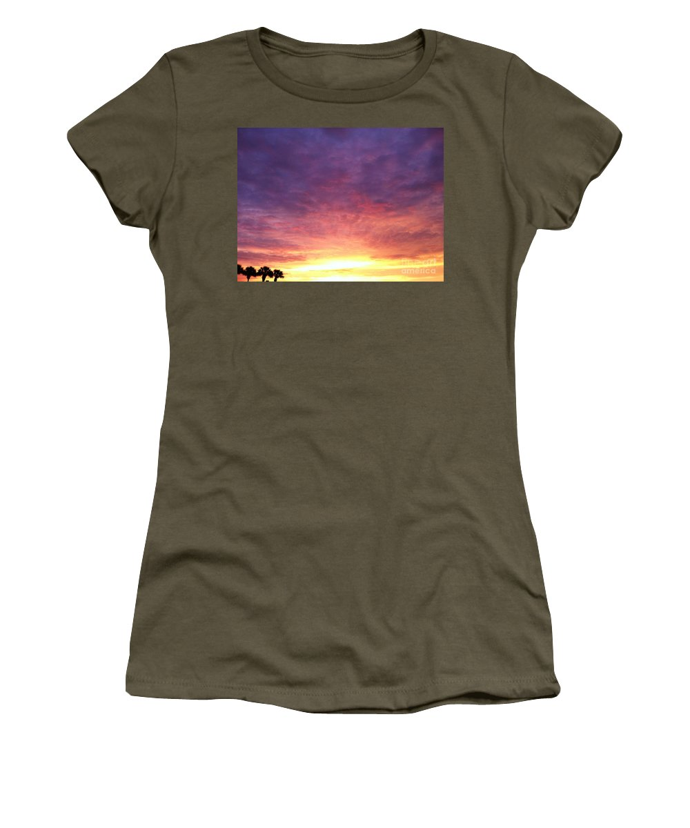 Landscape Women's T-Shirt (Athletic Fit) featuring the photograph Morning Faith by Melissa Darnell Glowacki