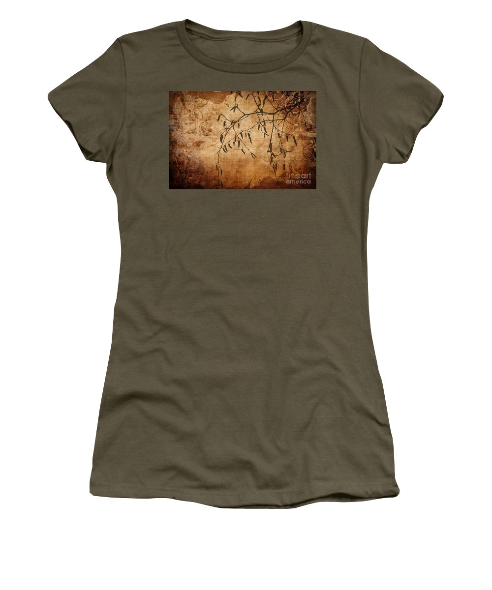 Flower Women's T-Shirt featuring the photograph Nature Canvas by Andrea Kollo