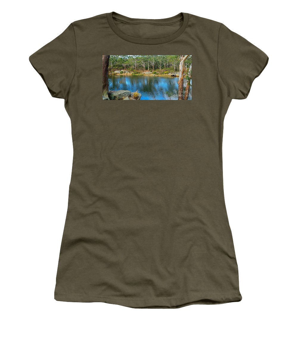 Photography Women's T-Shirt featuring the photograph Nature In The City by Kaye Menner