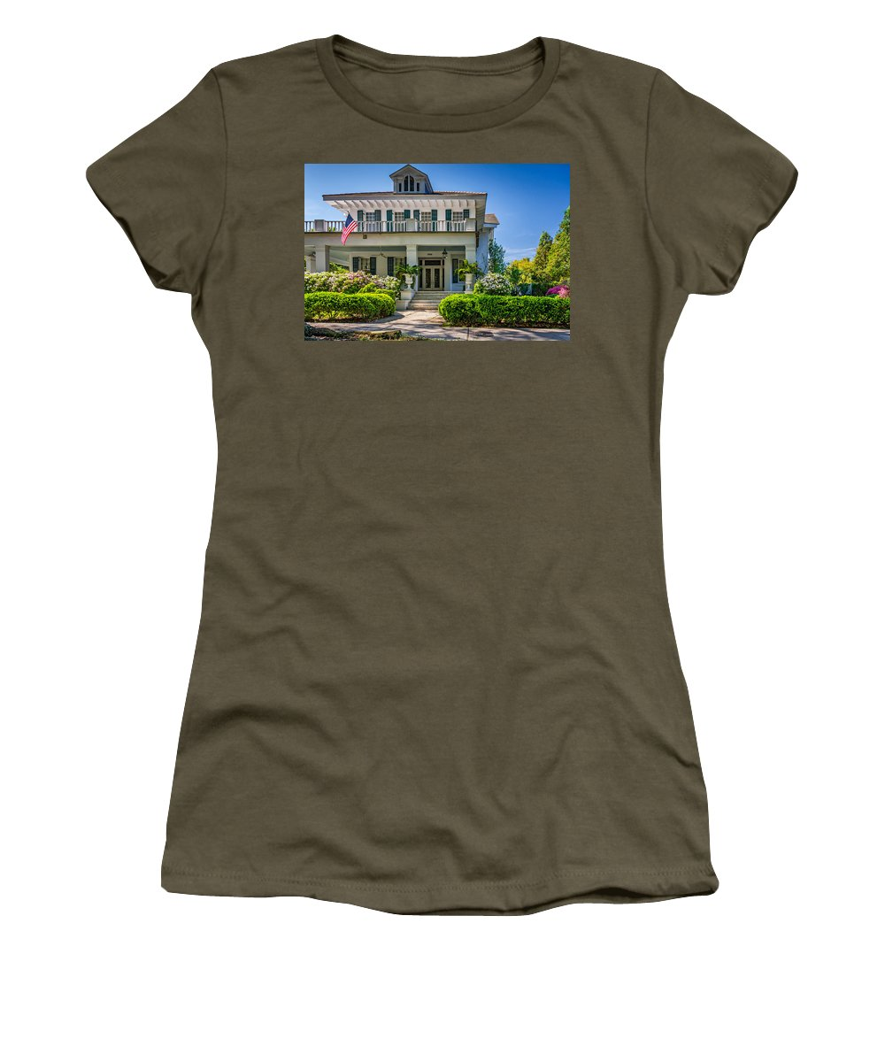 Home Women's T-Shirt featuring the photograph New Orleans Home 5 by Steve Harrington