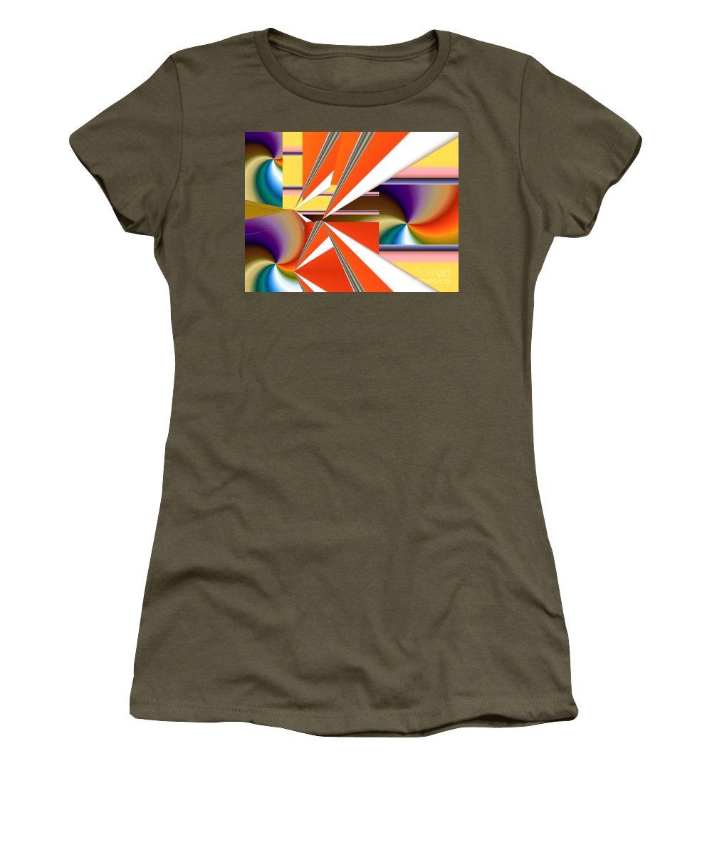 Women's T-Shirt featuring the digital art No. 233 by John Grieder