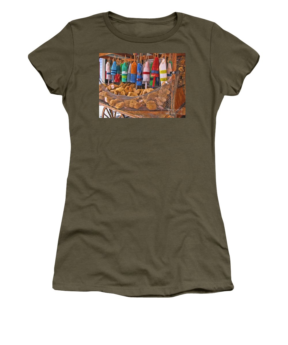 Buoy Women's T-Shirt featuring the photograph Oh Buoy by Peggy Hughes