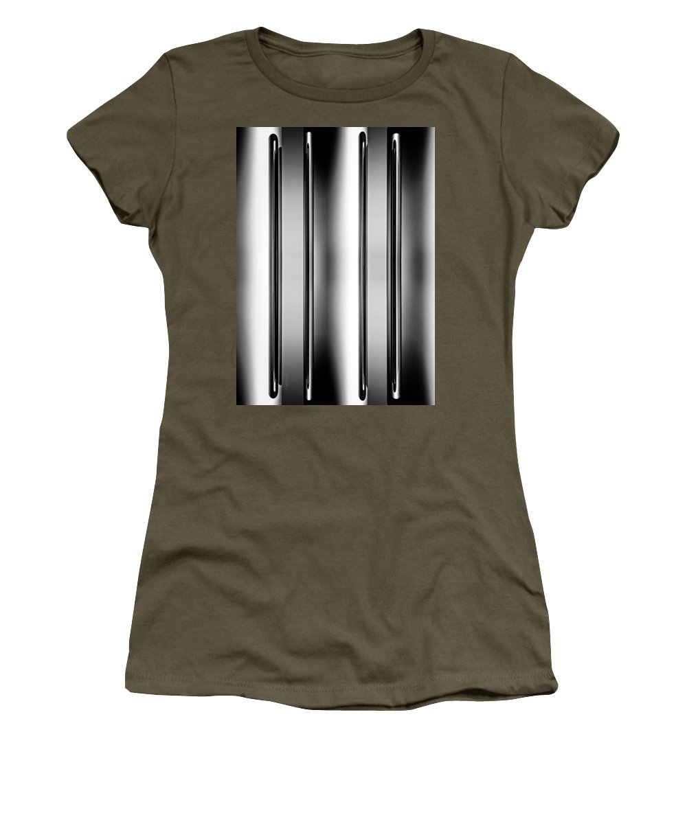 Needle Women's T-Shirt featuring the photograph One And Two Halves by Bob Orsillo