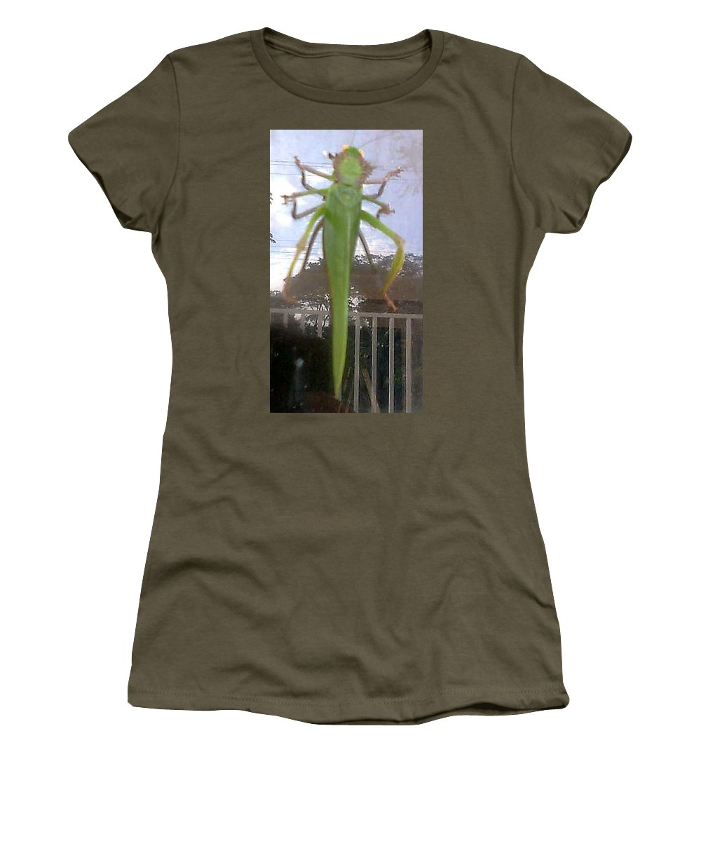 Wildlife Women's T-Shirt featuring the photograph One With God 2 by Dennis Pintoski