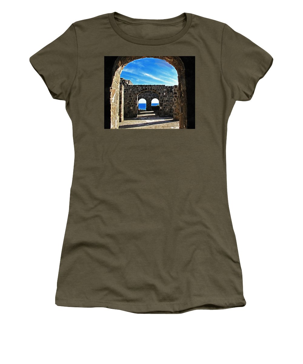 Lambton Women's T-Shirt (Athletic Fit) featuring the photograph Open To The Sky by Ian MacDonald