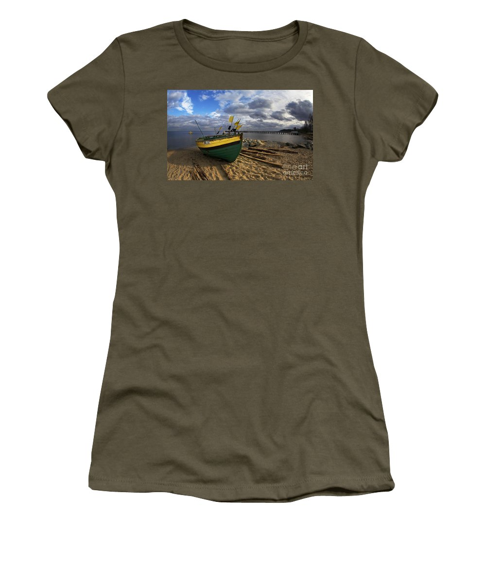Poland Women's T-Shirt featuring the photograph Orlowo by Jaroslaw Blaminsky
