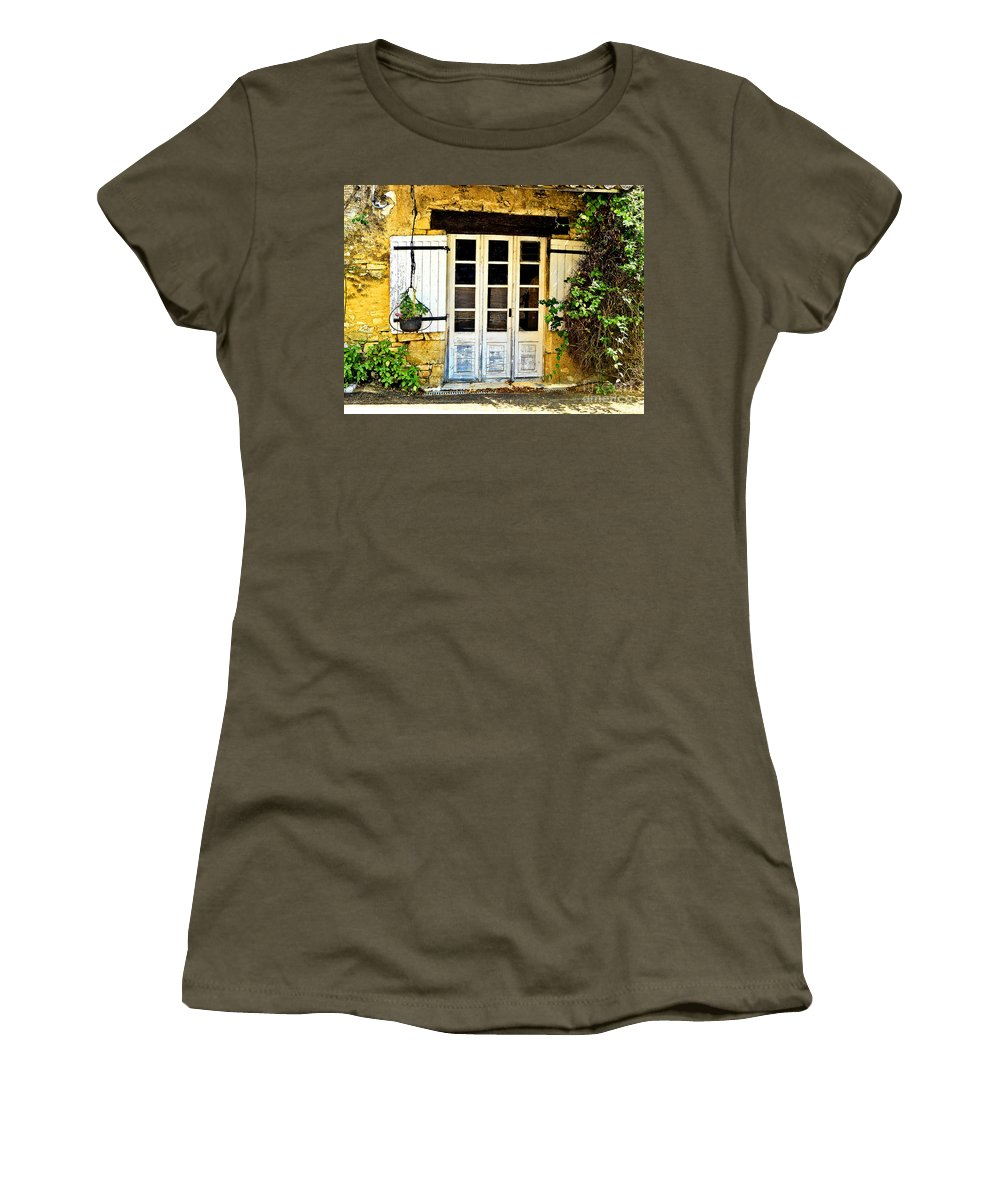 Abstract Women's T-Shirt (Athletic Fit) featuring the photograph Perfect Season by Lauren Leigh Hunter Fine Art Photography