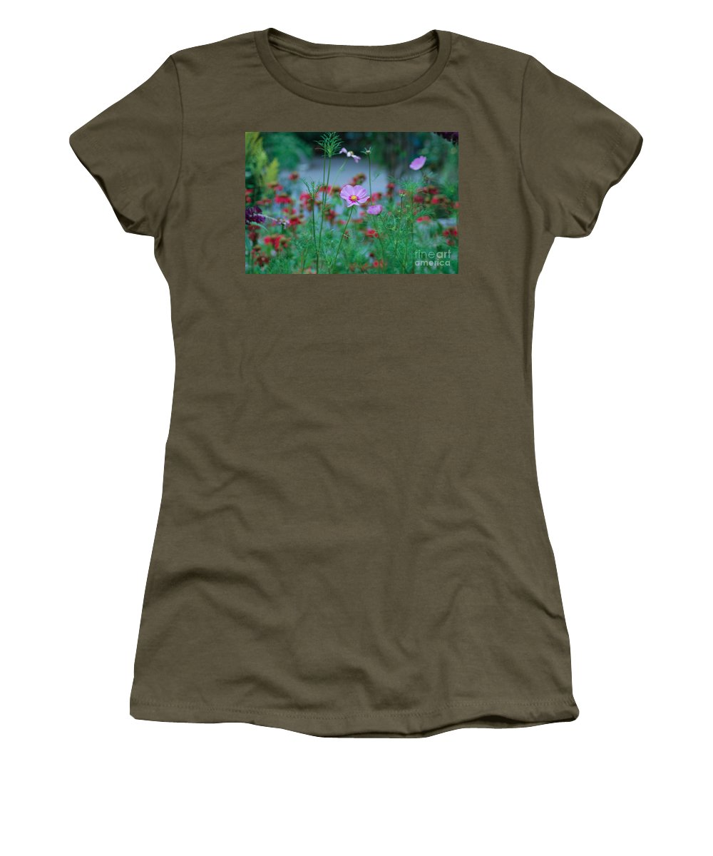 Poppies Women's T-Shirt featuring the photograph Poppies by Rich Priest