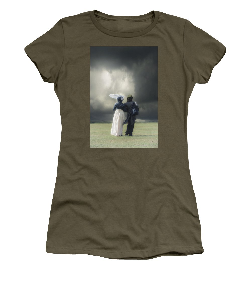 Couple Women's T-Shirt featuring the photograph Regency Couple by Joana Kruse