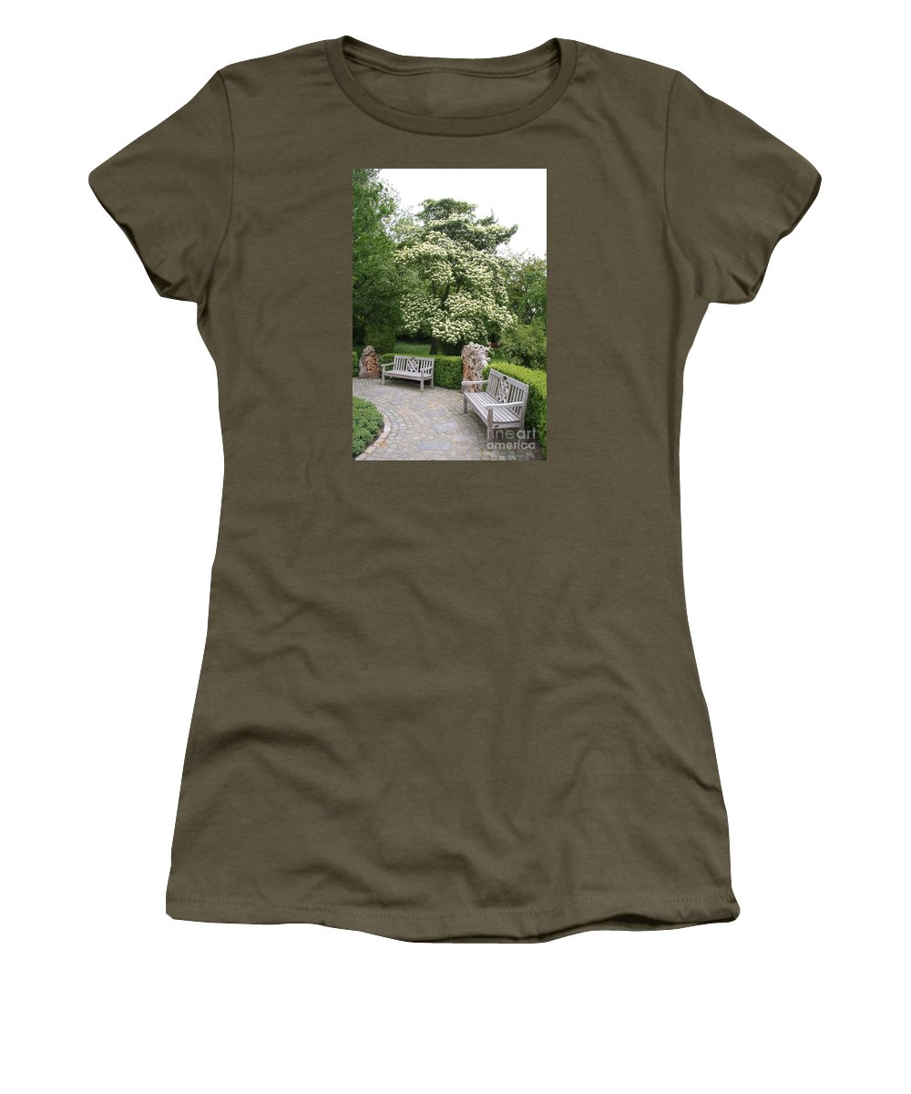 Park Women's T-Shirt featuring the photograph Relax In The Park by Christiane Schulze Art And Photography