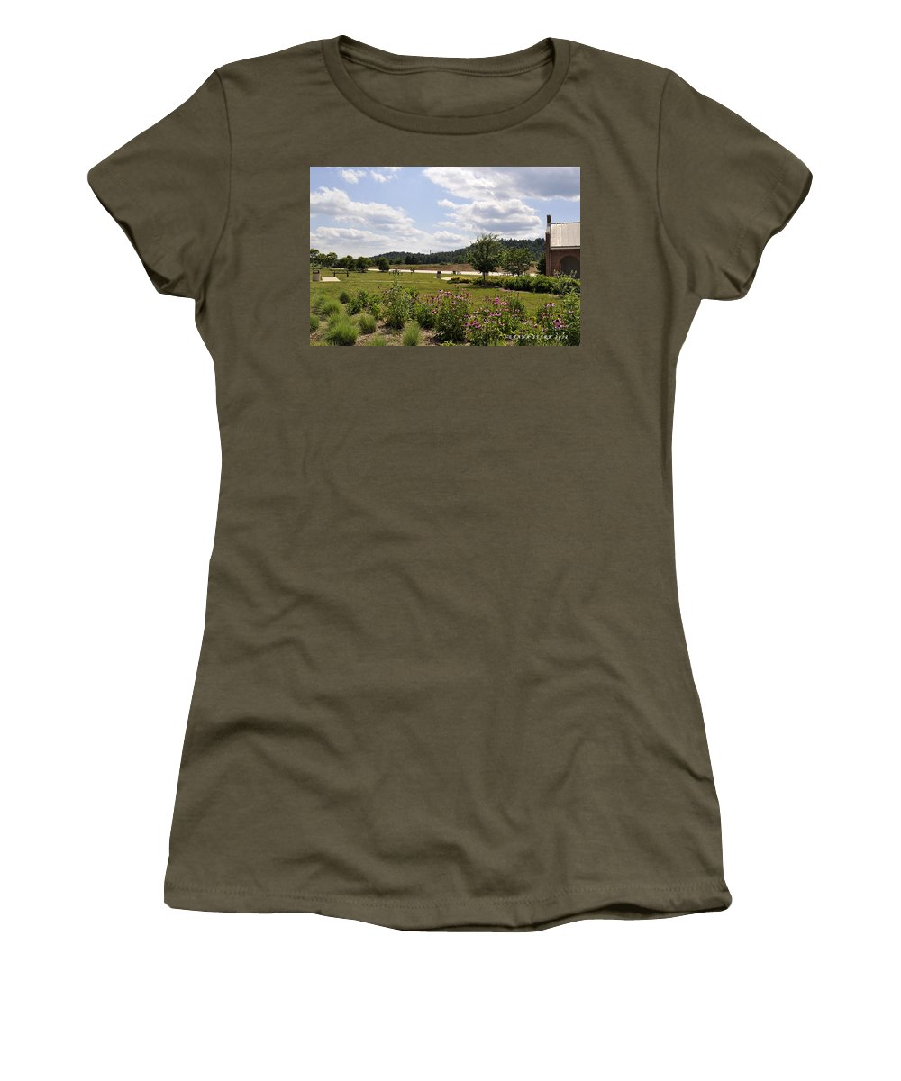Mountains Women's T-Shirt featuring the photograph Road Trip 2012 #2 by Verana Stark