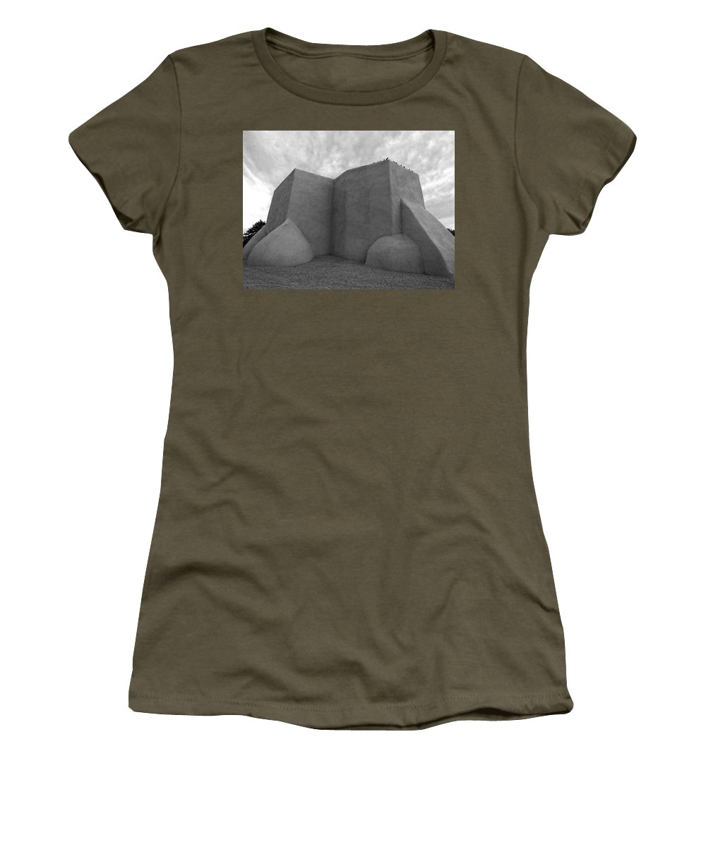 Lucinda Walter Women's T-Shirt featuring the photograph San Francisco De Asis Mission Church by Lucinda Walter