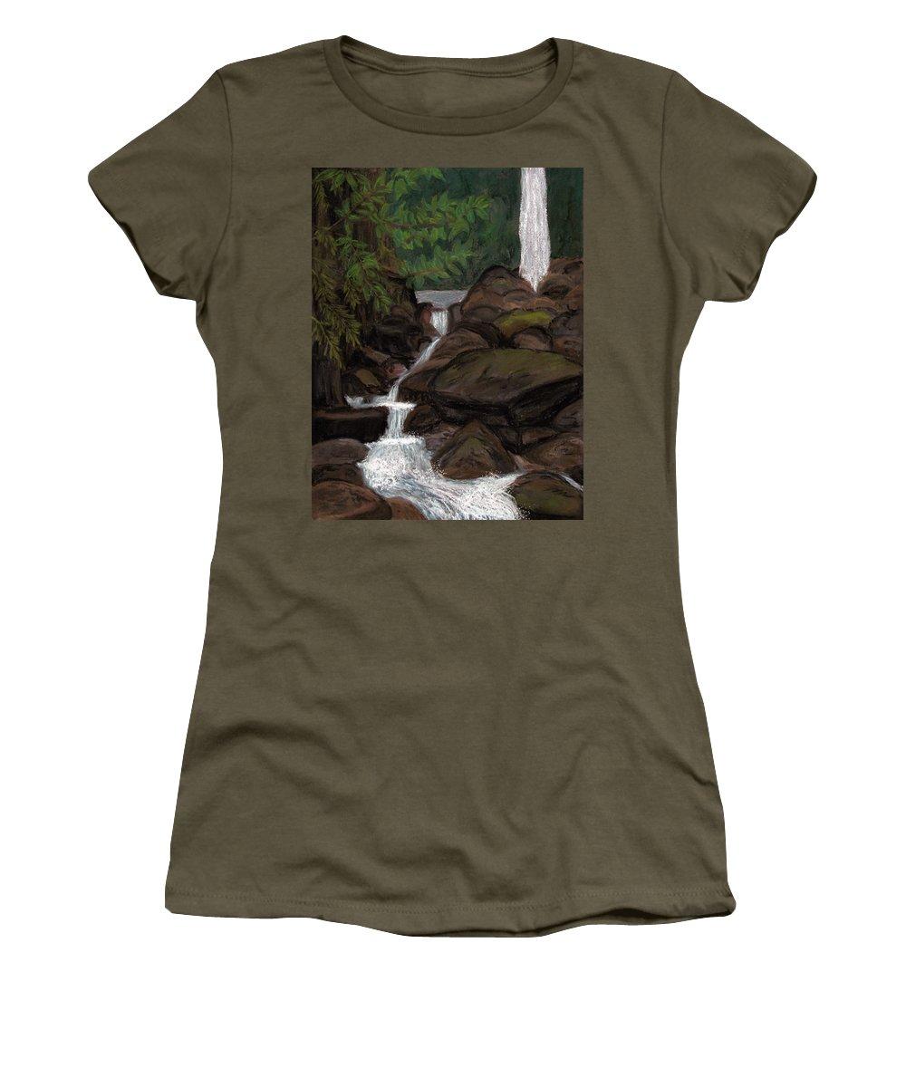 Sari Sari Women's T-Shirt featuring the painting Sari Sari by Patricia Beebe