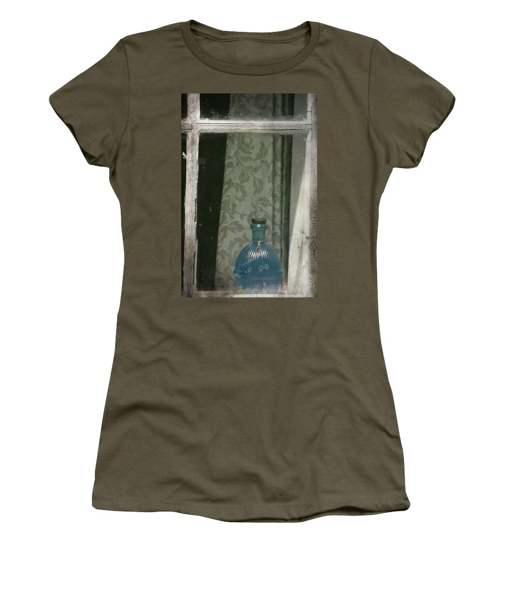 Window Women's T-Shirt featuring the photograph Saving My Wishes by The Artist Project