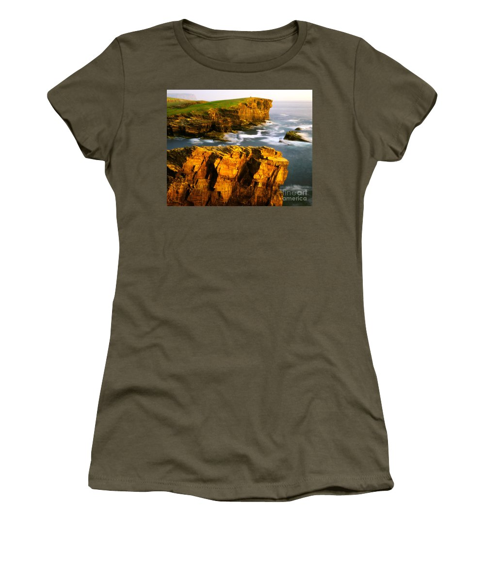 Europe Women's T-Shirt featuring the photograph Sea Of Time by Edmund Nagele