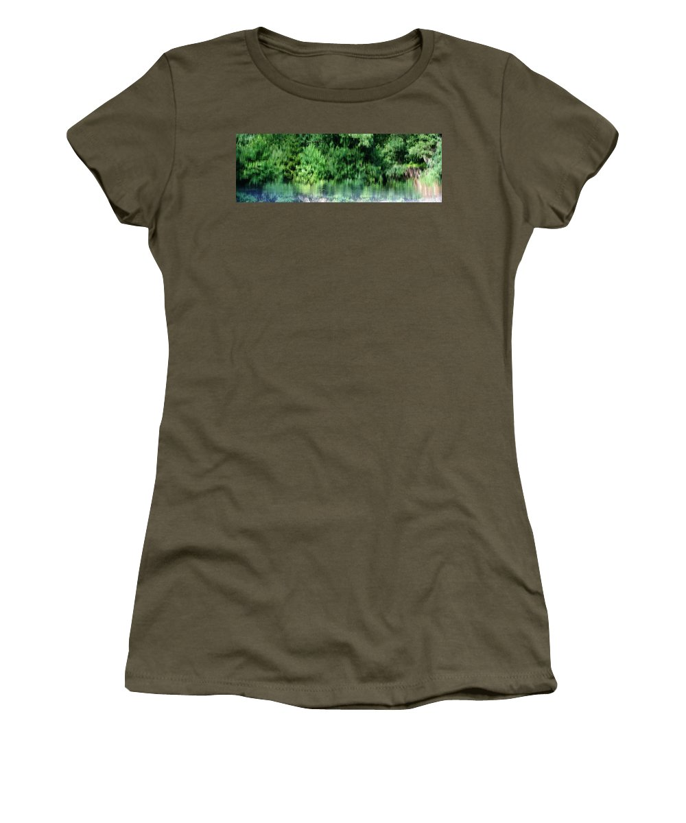 Shore Women's T-Shirt featuring the photograph Shore Line by Stanislav Killer