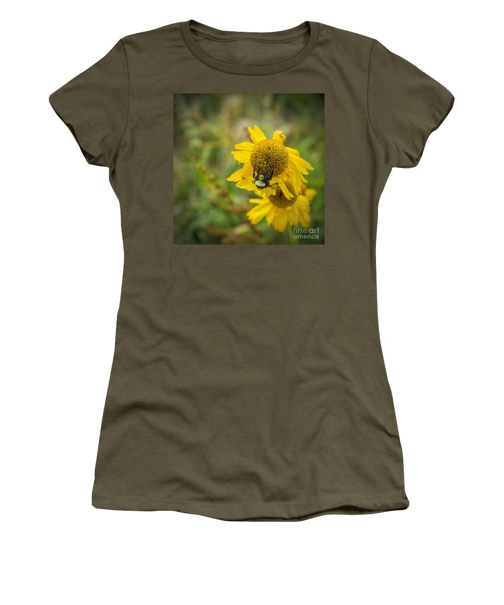 Wild Women's T-Shirt featuring the photograph Something Wild by Peggy Hughes