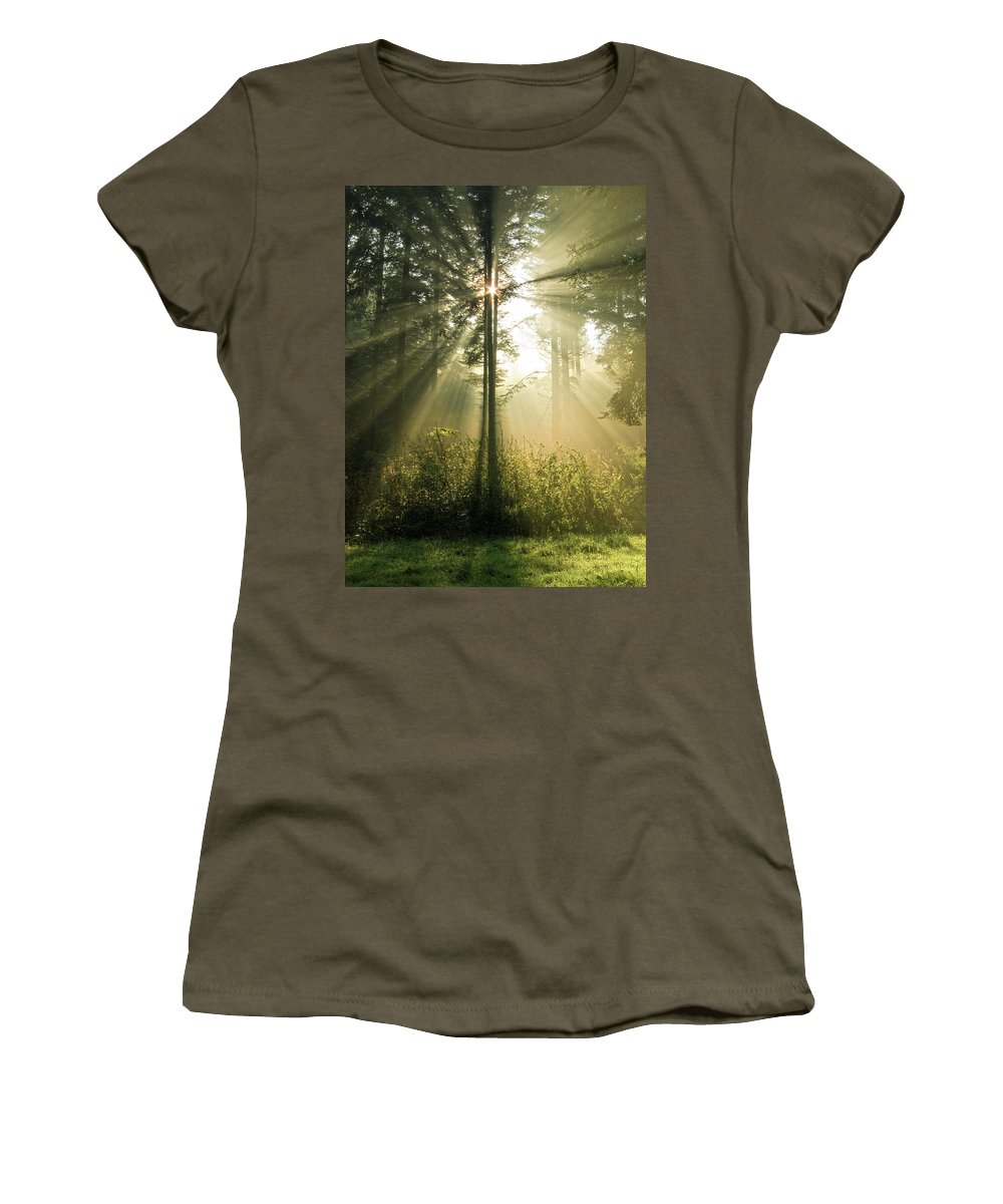 Nature Women's T-Shirt (Athletic Fit) featuring the photograph Splendour by Daniel Csoka