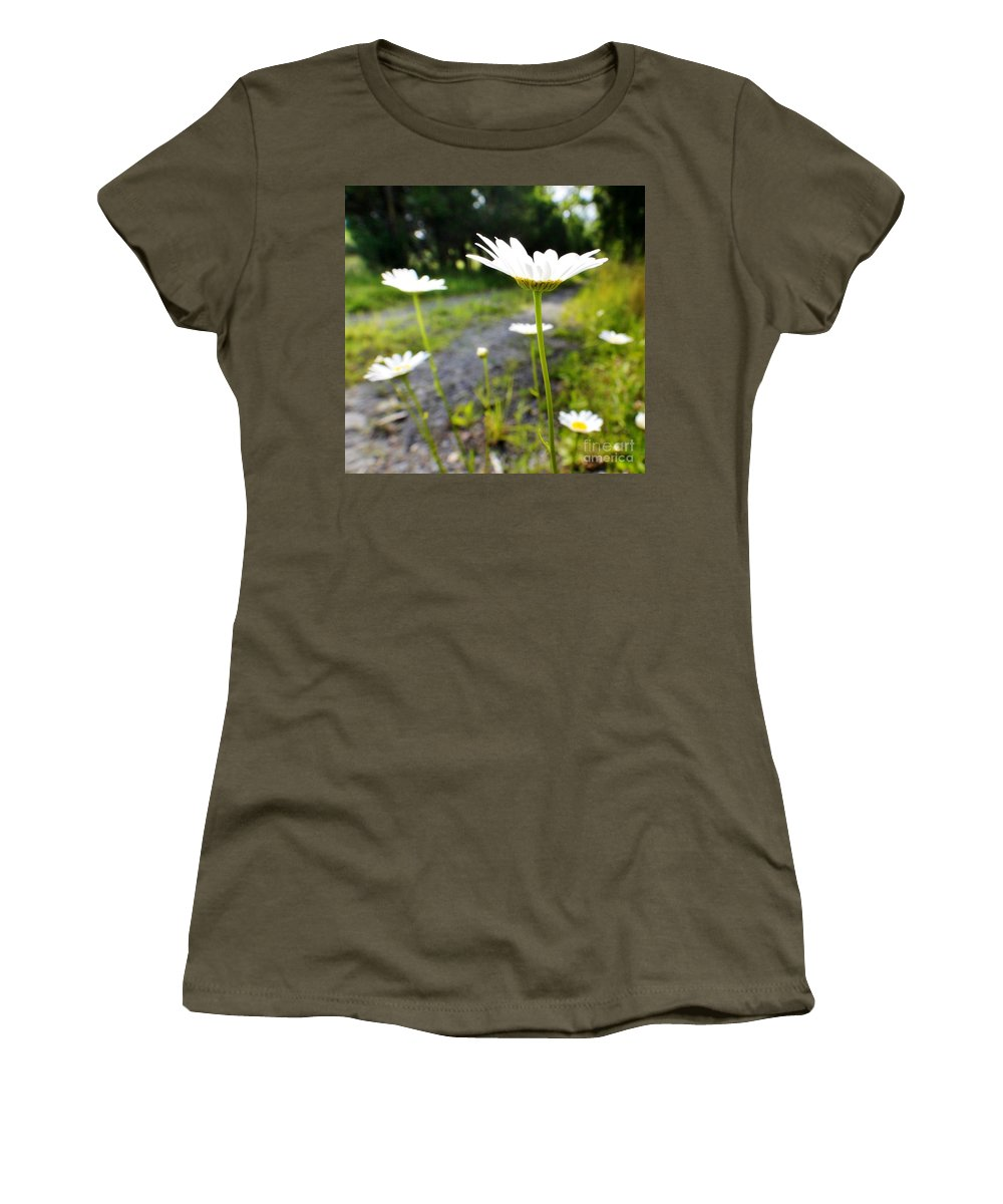 Botanical Women's T-Shirt featuring the photograph Spring In Campbell Hall by Chet B Simpson