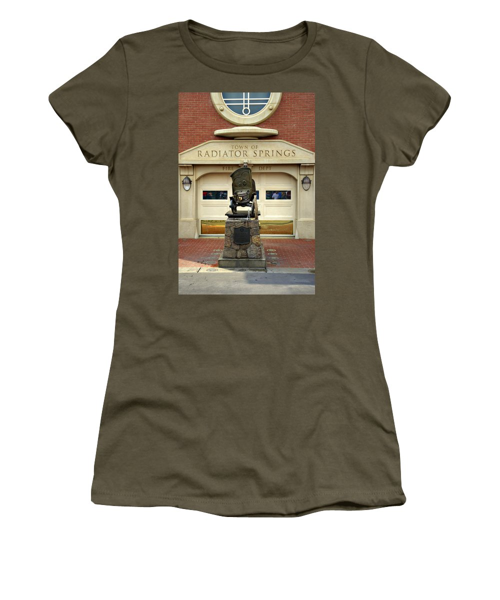 Stanley Women's T-Shirt featuring the photograph Stanley by Ricky Barnard