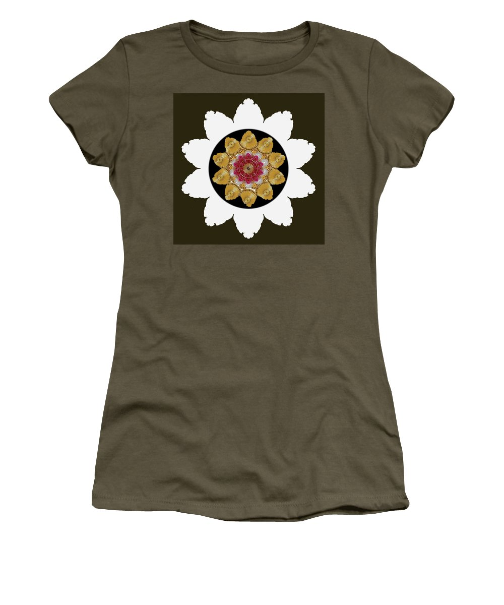 Star Women's T-Shirt featuring the mixed media Star Of Stars by Pepita Selles