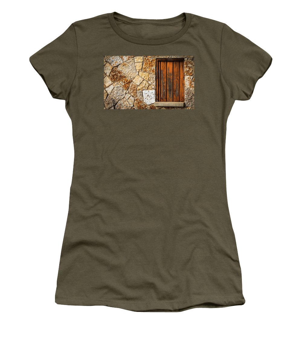 Boerne Women's T-Shirt featuring the photograph Sticks And Stone by Melinda Ledsome